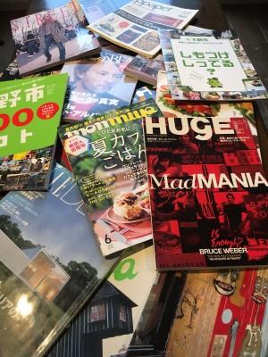 雑誌いっぱい
