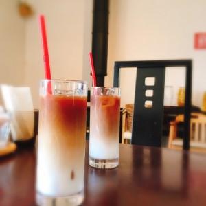 caféラテ